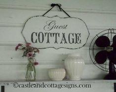 Custom Family sign Vintage Farmstead farmhouse by castleandcottage