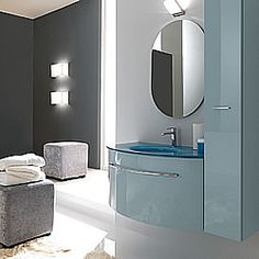 TWING Décor & Designs | Near San Francisco, CA | NCE HOME DECORNCE HOME DECOR Italian Bathroom, Wall Mounted Vanity, Vanity Units, Decoration, Bathroom Lighting, The Unit, Mirror, Cabinets, San Francisco