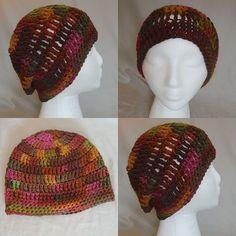 Beanie Triple Crochet - Cherry Cola by BowsysBoutique http://etsy.me/2eRgTdC #redheartyarn #cherrycola #autumnbeanie