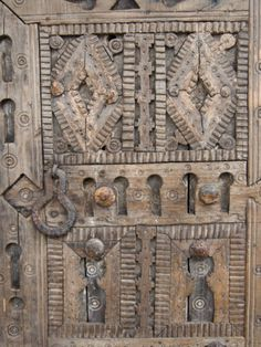 size: Photographic Print: Ancient Door for Sale in the Souk, Marrakech (Marrakesh), Morocco, North Africa, Africa by Nico Tondini : Artists Marrakech Souk, Marrakesh, Vintage Doors, Antique Doors, Medieval Door, Door Images, Cool Doors, North Africa, Windows