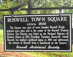 Historic Roswell GA...