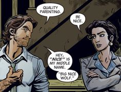 That would make you BigNy Wolf, hey I'm not complaining. The Wolf Among Us, Fables Comic, Werewolf Stories, Facebook E Instagram, Fanart, Big Bad Wolf, Hilario, Geek Out, Dark Horse