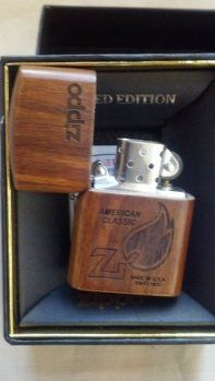 japanese wooden zippo