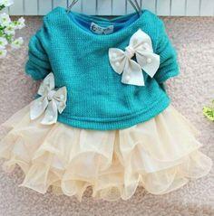 Aqua blue dress Love this!