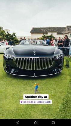 Design genius!! Vision Mercedes-Maybach 6 Cabriolet #Mercedes