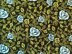 BATIK STOF - Indonesië - Rumah batik mawar Gestempeld batik stof. Wees creatief en maak er wat moois van! Uit Solo / Java.