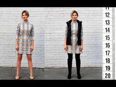 "Я ШЬЮ: Платье-реглан со стойкой ""Барберри""  I SEW: Raglan-dress Barberry"