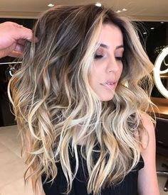 """506 Likes, 13 Comments - #MODERNSALON (@modernsalon) on Instagram: """"Balayage✔️money piece✔️ shadow root✔️ perfection ✔️✔️✔️ thanks @romeufelipe for sharing with…"""""""