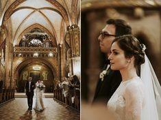 Vanda & Edmond - Rusztikusan elegáns esküvő a Budai Várnegyedben Real Weddings, Wedding Ceremony, Couples, Couple