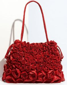 Valentino Nappa Rose Leather Tote - Purses, Designer Handbags and Reviews at The Purse Page