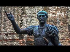 Emperor Trajan at Tower Hill - London Rome History, Ancient History, London Wall, London City, Tower Hill London, Roman Entertainment, Ecce Romani, Queen Boudica, London Wonders