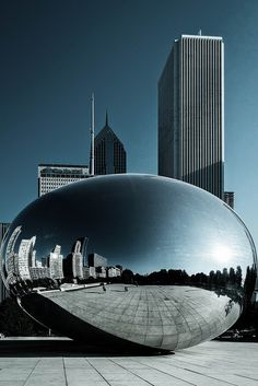 Chicago cloud gate ball | Flickr - Photo Sharing!
