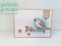 Juan Ambida Independent Stampin' Up!® Demonstrator Australia: Best Birds bundle - It's a good day!