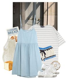 bread by paper-freckles on Polyvore featuring polyvore, The Great, Anna Kosturova, Golden Goose, fashion, style and clothing