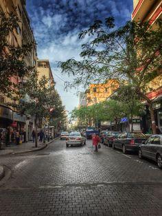 #beirut #lebanon Hamra street