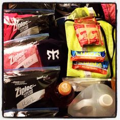 Packing for Ragnar Cape Cod 2012 :)
