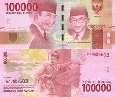 Indonesia 100000 Rupiah 2016