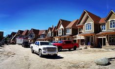 Townhouse project almost complete. Pic from last summer. Just making final the touches - set to complete in a couple months Residential Construction, Group Of Companies, Blue Mountain, Project Management, Townhouse, Finals, Posts, Mansions, House Styles