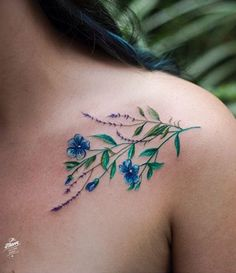 Magdalena Bujak flower tattoo - Magdalena Bujak flower tattoo You are in the right place about Magdalena Bujak flower tattoo Tattoo -