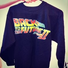 Back to the Future sweatshirt from the 80's - at Beyond Retro Zinkensdamm!