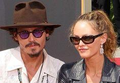 Johnny Depp and Vanessa Paradis – Break-up June 2012