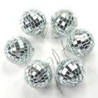Disco Ball Mirror Party Christmas Xmas Tree Ornament Decoration