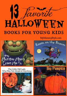 13 favorite #halloween books for young kids