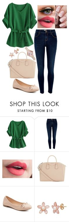 """""""LIE"""" by aubrielleoutfits ❤ liked on Polyvore featuring River Island, Givenchy, SO and New Look"""