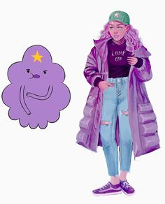 Likes, 180 Comments - Tasia Lumpy Space Princess, Cartoon As Anime, Cartoon Art, Marceline, Character Drawing, Character Design, Evvi Art, Cartoon Characters As Humans, Realistic Cartoons