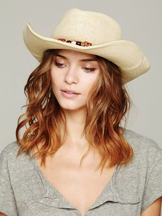 Absolutely, must have and have already ordered! Free People Shiko Straw Cowboy Hat,