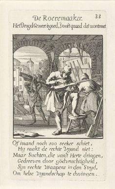 Geweermaker, Jan Luyken, 1694