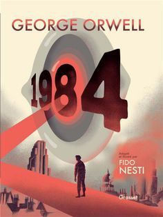 George Orwell, Aldous Huxley, Margaret Atwood, The New Yorker, Grafic Novel, Penguin Books Uk, Nineteen Eighty Four, Winston Smith, Romance