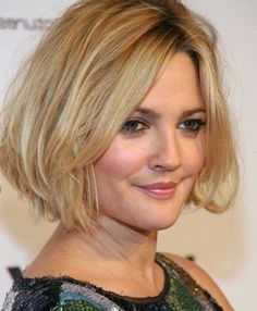 short hairstyles for round and chubby faces