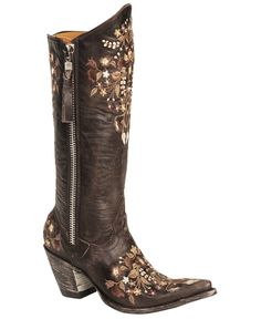 <3 Old Gringo Sora Razz Cowgirl Boots - Pointed Toe