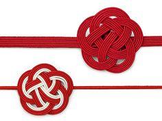 水引き(Mizuhiki): A charm of knots Japanese New Year, Japanese Paper, Japanese Ornaments, Seasonal Image, Japanese Festival, Jewelry Knots, New Years Decorations, Japan Design, Weaving Art