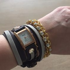La Mer Wrap Watch I love this watch, I just never wear it. In perfect condition. La Mer Accessories Watches