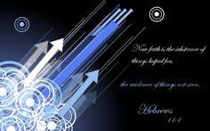 Hebrews 11:1 by Menchieee.deviantart.com on @DeviantArt