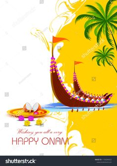 Find Vector Illustration Happy Onam Festival Background stock images in HD and millions of other royalty-free stock photos, illustrations and vectors in the Shutterstock collection. Onam Festival Kerala, Onam Photos, Happy Onam Images, Morning Pictures, Morning Pics, Hipster Wallpaper, Festival Background, Hindu Deities, Indian Festivals