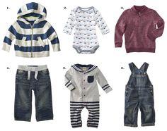 baby boy outfits | Genuine Kids from OshKosh Newborn Boys Striped Sweater $12.99 view ...