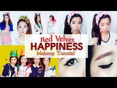 Red Velvet 레드벨벳 HAPPINESS 행복 Makeup Tutorial