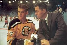 Bobby Orr wearing number 27 as a buzzed cut rookie | Boston Bruins |  NHL | Hockey
