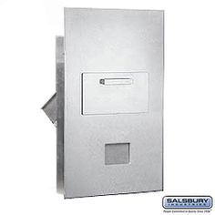 Collection Unit For 6 Door High 4B  Mailbox Units Rear Loading USPS Access