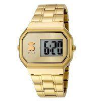 Reloj digital dorado de la marca Tous - https://relojesdorados.com