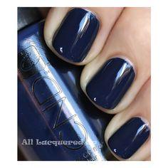 Fall 2011 Nail Polish Trend Bold Beautiful Blues ❤ liked on Polyvore featuring beauty products, nail care, nail polish, nails, makeup, beauty and unhas