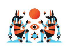 Gods of Egypt - origin of symmetry series (per. WIP '16)