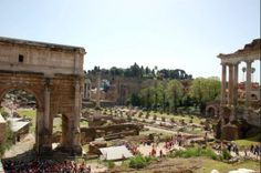 Tips for which sights to visit in Rome: The Forum Romanum