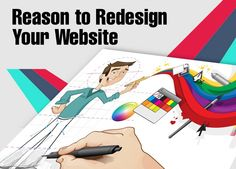 Know here, what are the best  4  factors to redesign the website.
