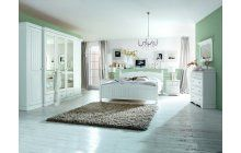 Ložnice z masivu borovice bílá. Bed, Furniture, Home Decor, Decoration Home, Stream Bed, Room Decor, Home Furnishings, Beds, Arredamento