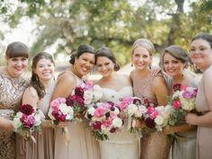 Dallas-Fort Worth Wedding Planning Studio, wedding collective, dallas wedding planner, grit + gold, apryl ann photography, r love floral designs, bride and groom, fort worth wedding, modern art museum wedding, mismatched maids,