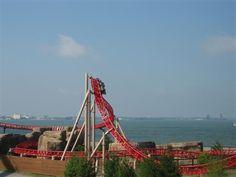 Cedar Point Maverick Roller Coaster Photos